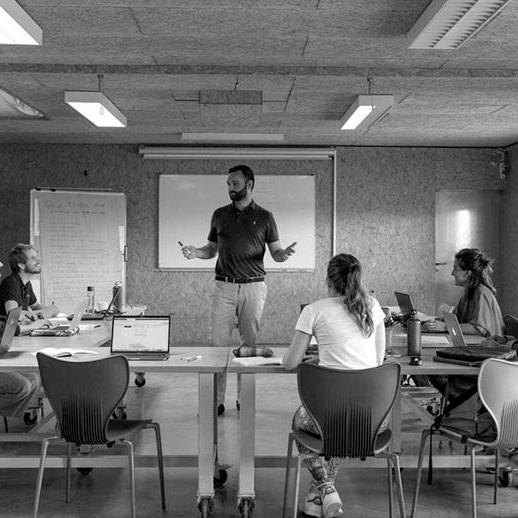 espace de cours formation architecture